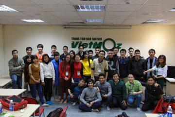 Bế giảng khóa học SEO tiêu chuẩn K17