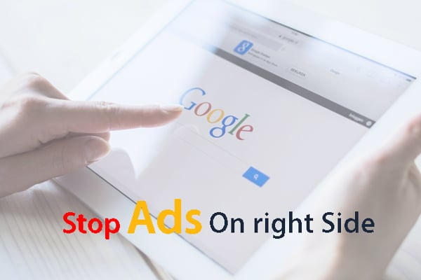 Google-stop-ads-on-right-site