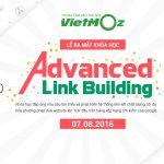 Thư mờisự kiện ra mắt khóa học Advanced Link Building