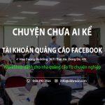 Workshop: Tài khoản quảng cáo Facebook – Chuyện chưa ai kể