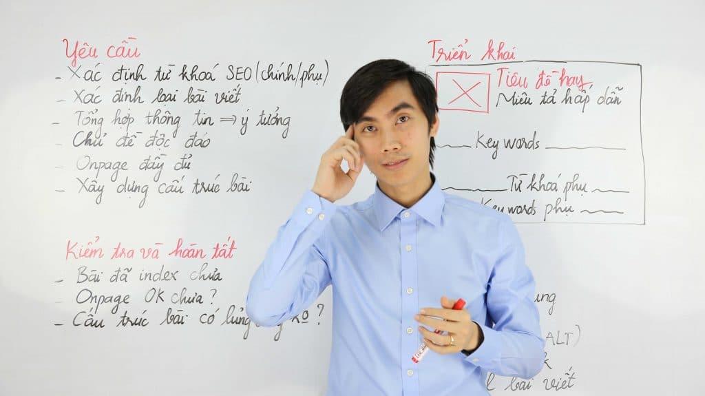 bài viết chuẩn seo có cấu trúc như nào