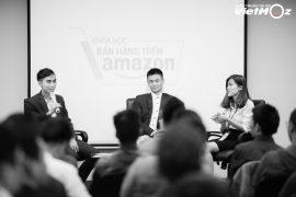 Hình ảnh lễ ra mắt khóa học bán hàng Amazon