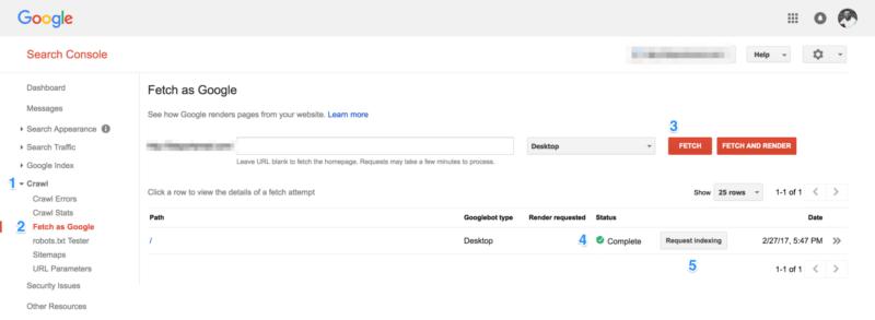 Hướng dẫn đưa site map lên Search Console