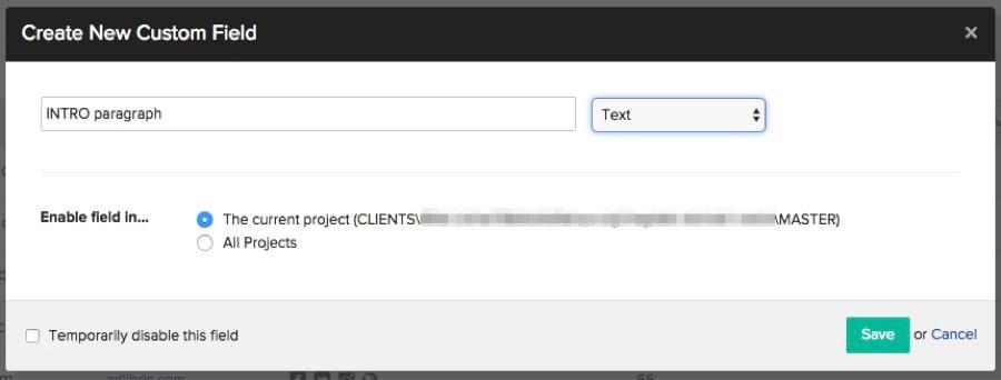 buzzstream có thể chèn từng đoạn văn tùy chỉnh cho từng email marketing khác nhau