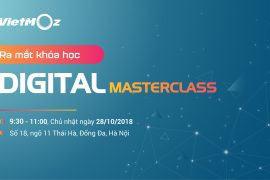 Lễ ra mắt khóa học Digital MasterClass