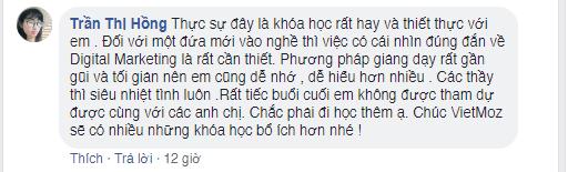 Ý kiến học viên Trần Thị Hồng