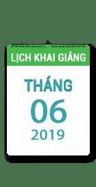 Lịch khai giảng khóa học tháng 06 - 2019 tại Hà Nội