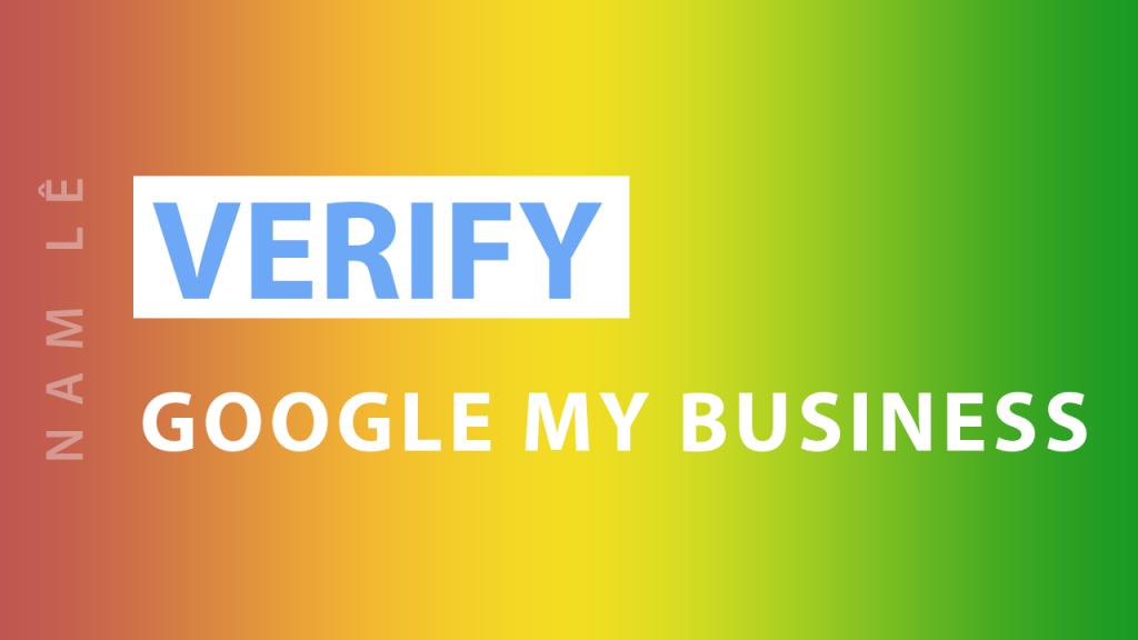 verify google map